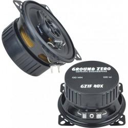 Ground Zero Iridium GZIF 40X 10 cm 2 juostų koaksialiniai garsiakalbiai automobiliui kaina už 2 vnt. 100W