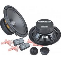 Ground Zero GZIC 16X 16,5 cm komponentai garsiakalbiai automobiliams 2 juostų kaina už komplektą 150W