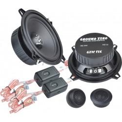 Ground Zero GZIC 13X 13 cm komponentai garsiakalbiai automobiliams 2 juostų kaina už komplektą 140W
