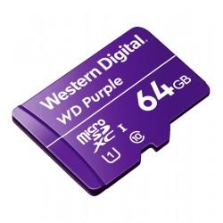 Mikro SD kortelė WD Purple WDD064G1P0C